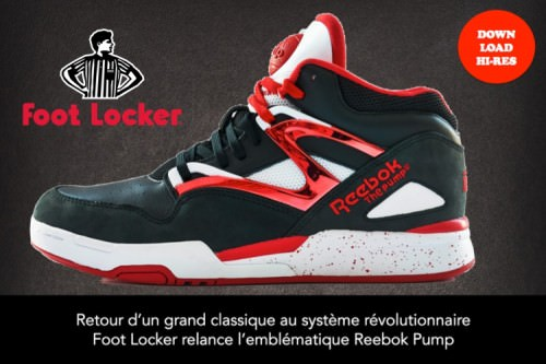Reebok Pump x Foot Locker