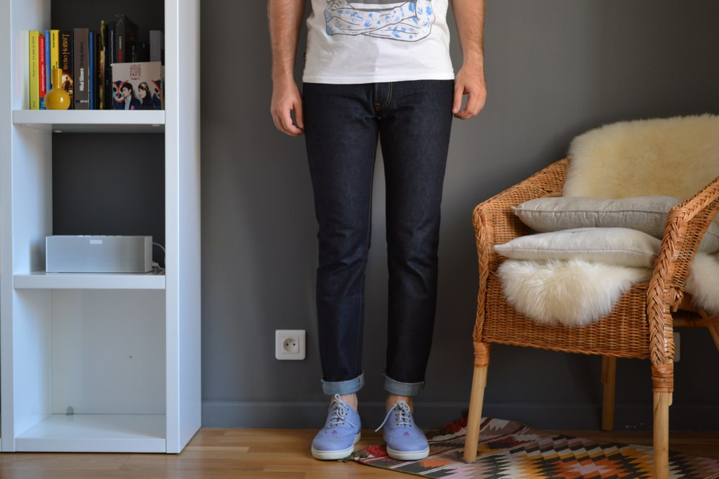 jean uniqlo selvedge
