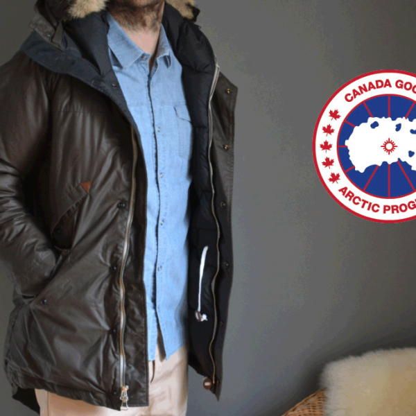 parka canada goose wings horns