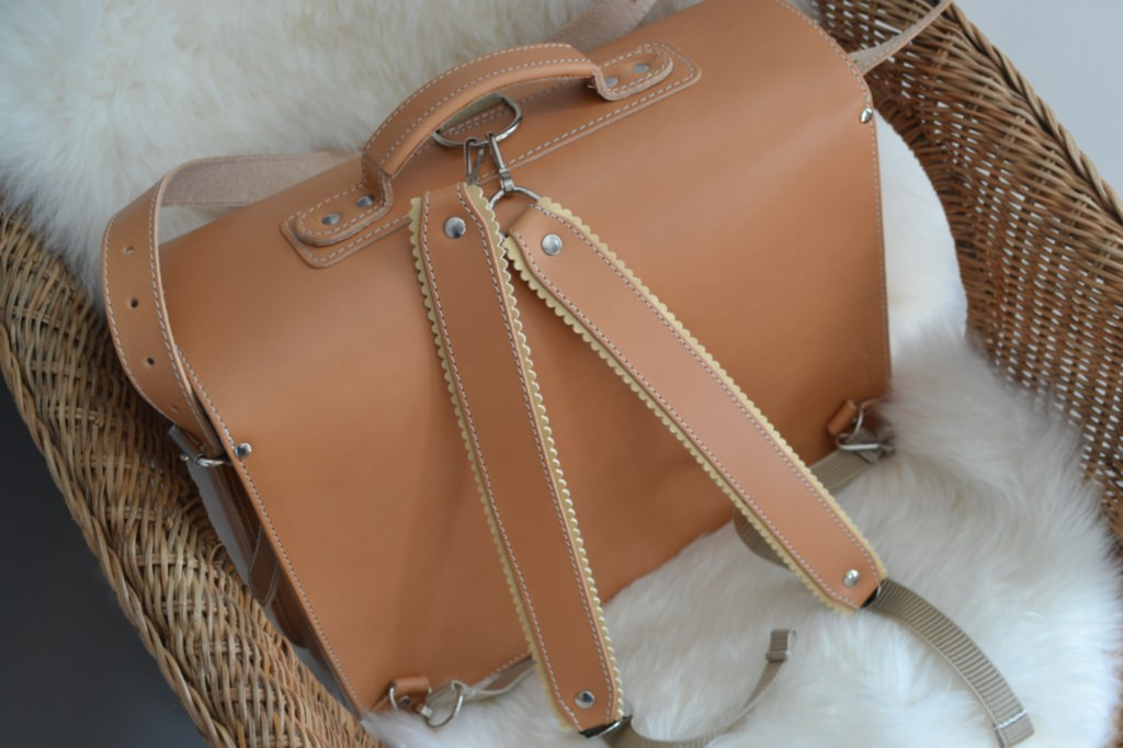 sac cartable vintage