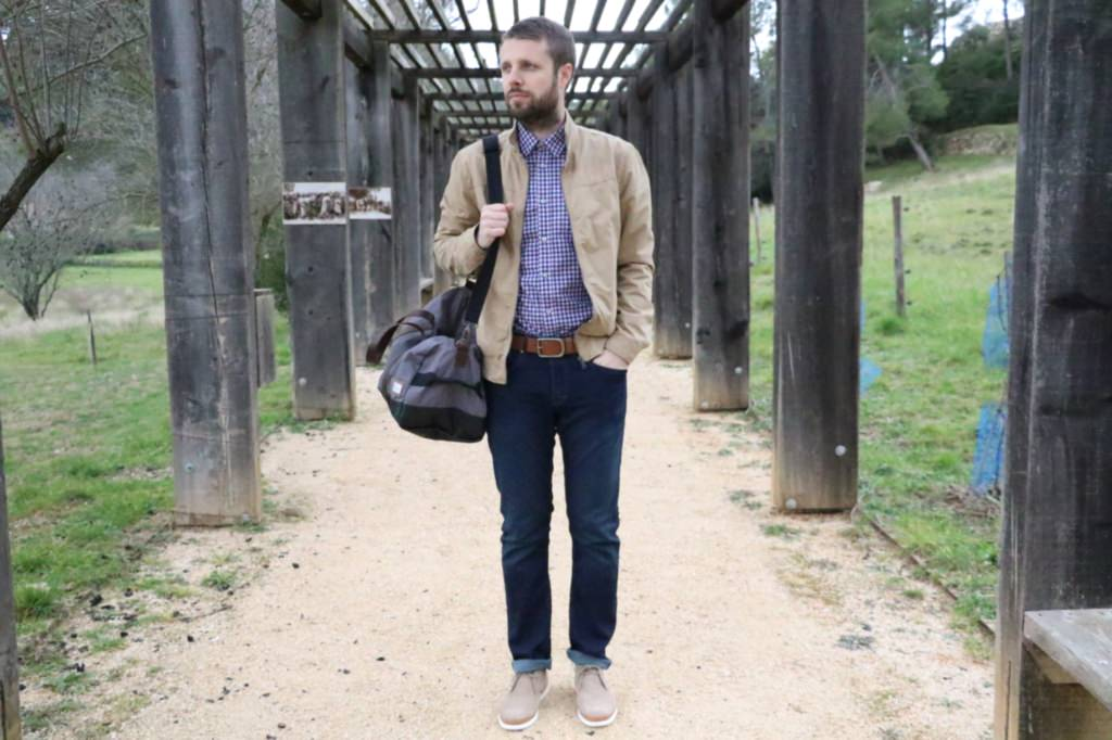 look-homme-celio-denim-jean-veste