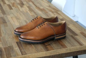 Chaussures Maison Hardrige Woody Gold